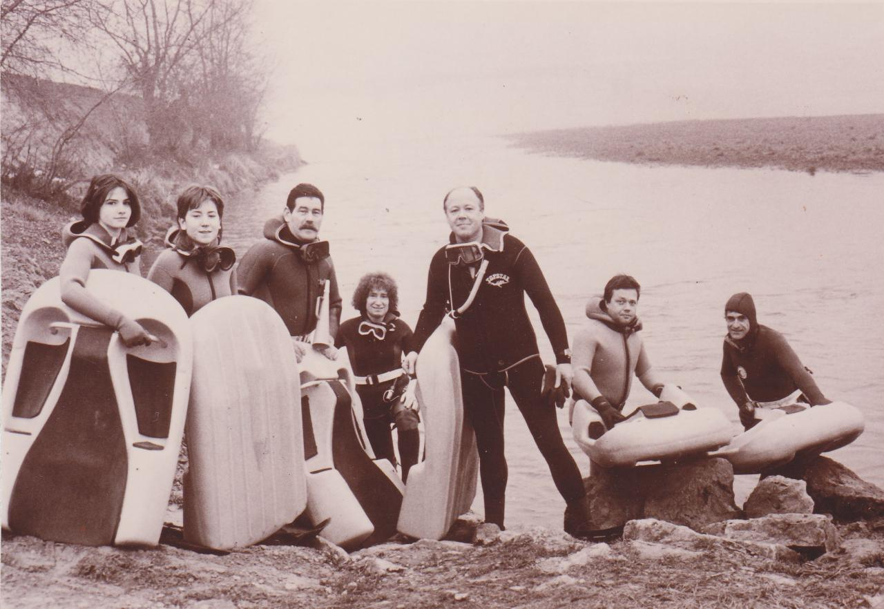 1989 descente de la Garonne