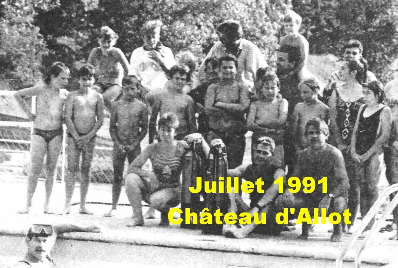 1991 baptêmes à Boé