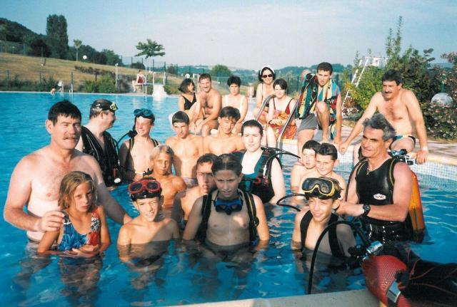 1994 Baptêmes plongée Pont du Casse