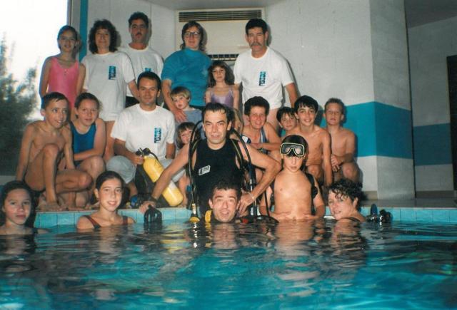 1995 Baptêmes de plongée Pont du Casse