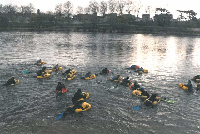 1996 Descente de la Garonne