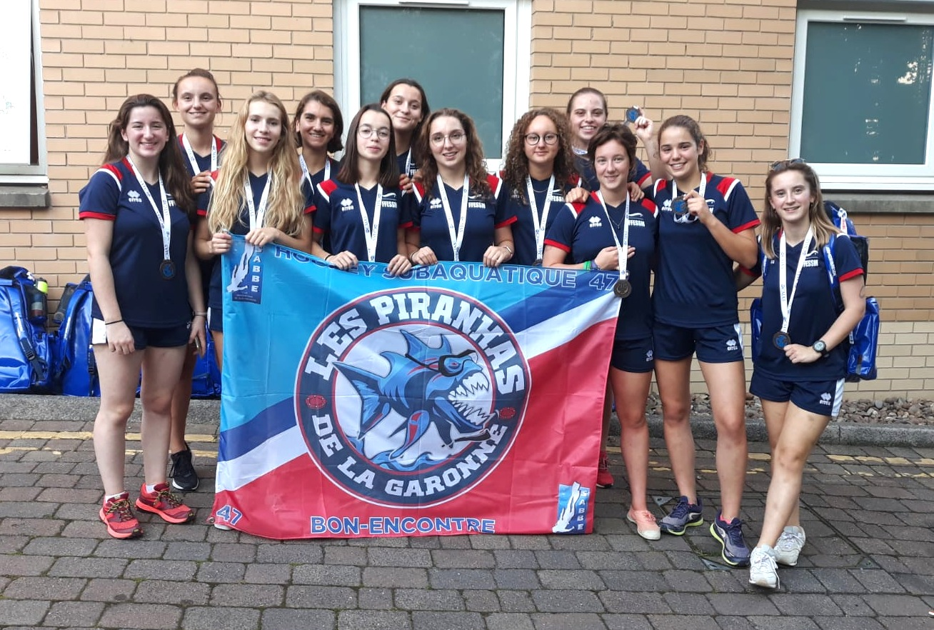 Hockey France U19F Jade Sheffeild Médaille Bronze