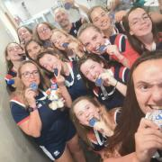 Hockey France U19F Jade Sheffield Médaille Bronze