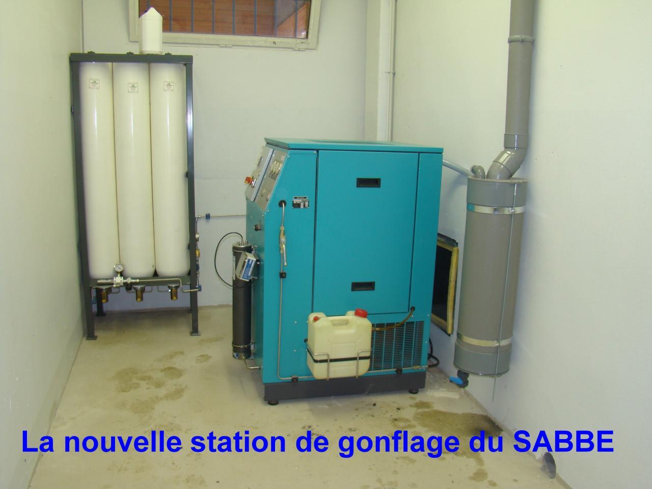 SABBE plongée Agen Station Gonflage