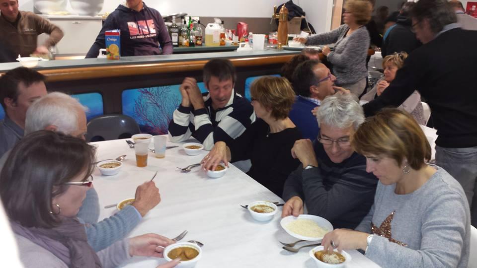 SABBE plongée Repas club Bon Encontre