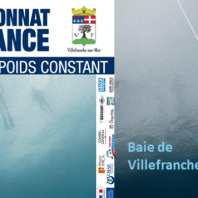Championnats de France Apnée - affiche