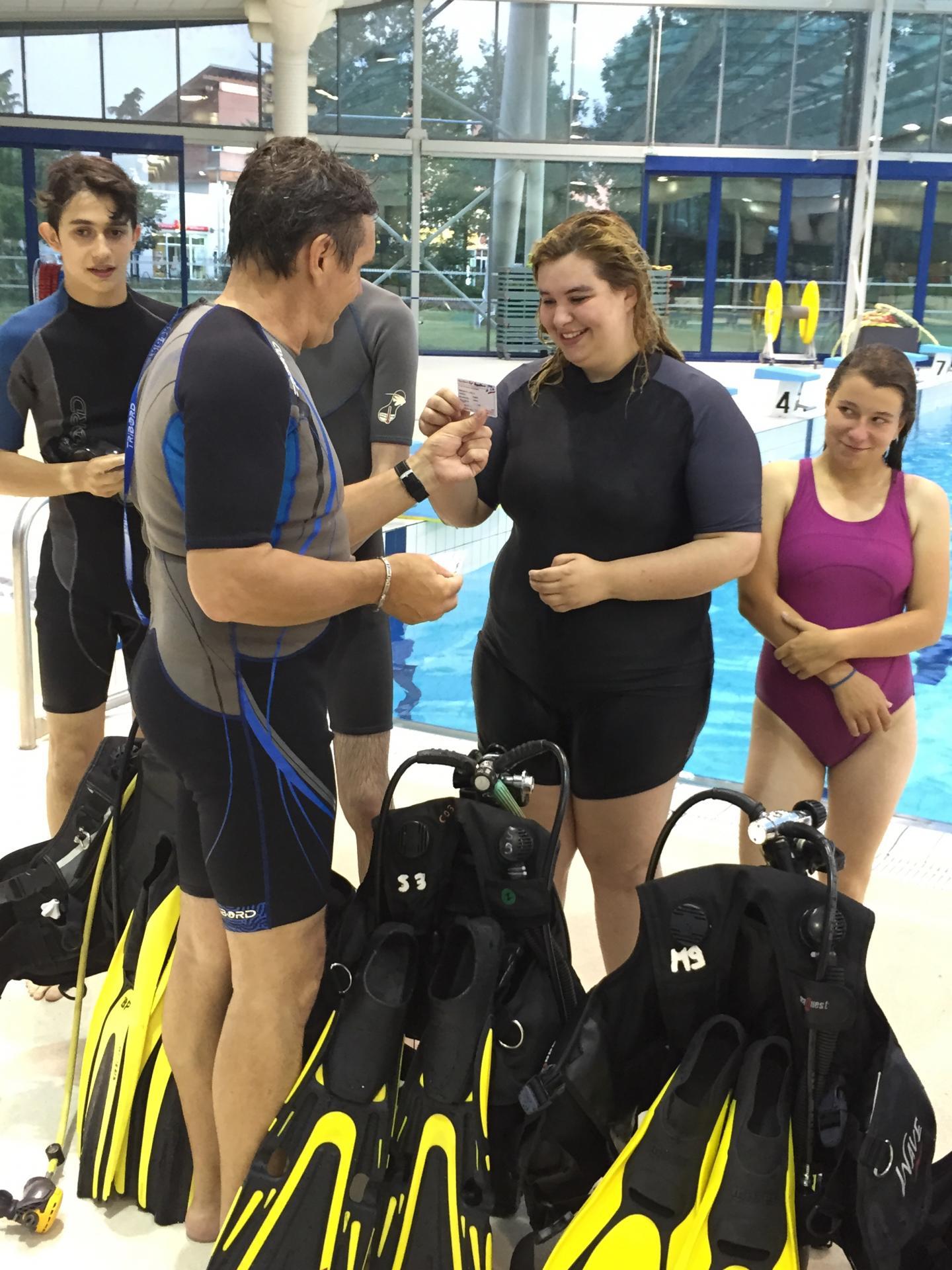 SABBE plongée 2015 - Formation PESH 6m