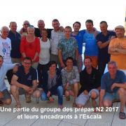 Une partie du groupe des prépas N2 2016-2017