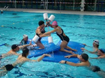 La joute aquatique